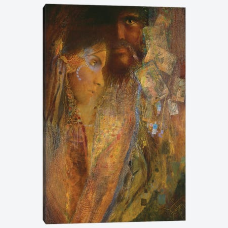 Gypsy Sunset Canvas Print #DNT52} by Denton Lund Canvas Art Print