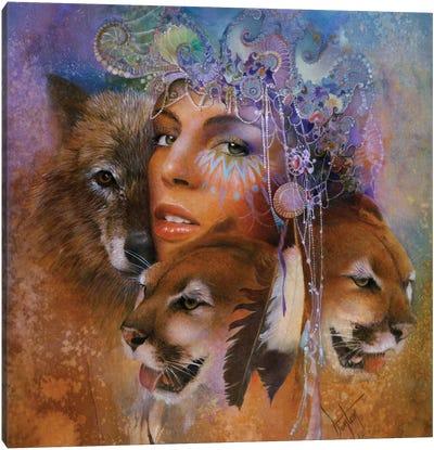 Harmony's Sphere Canvas Art Print