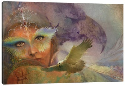 In The Eagle's Shadow Canvas Art Print