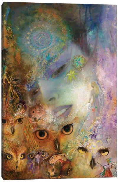 Night Messengers Canvas Art Print