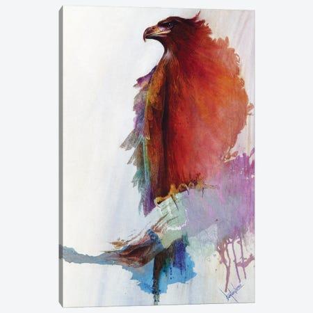Rainbow Eagle Canvas Print #DNT80} by Denton Lund Canvas Wall Art