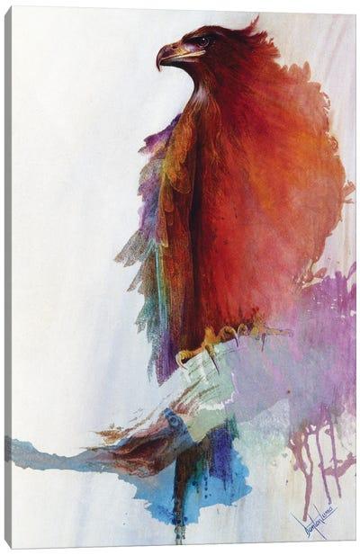Rainbow Eagle Canvas Art Print