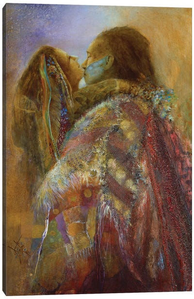 Robe Of Many Colors Canvas Art Print