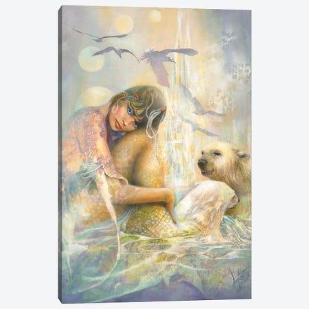 Arctic Enchantment Canvas Print #DNT8} by Denton Lund Art Print
