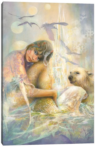 Arctic Enchantment Canvas Art Print