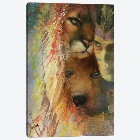 Shared Spirits Canvas Print #DNT90} by Denton Lund Canvas Print