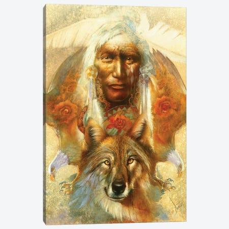 Spirit Guardians Canvas Print #DNT95} by Denton Lund Canvas Artwork