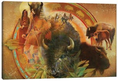Spirit Of Tatanka Canvas Art Print