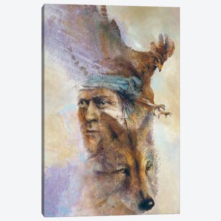 Spirits Of The Wild Canvas Print #DNT99} by Denton Lund Canvas Art Print