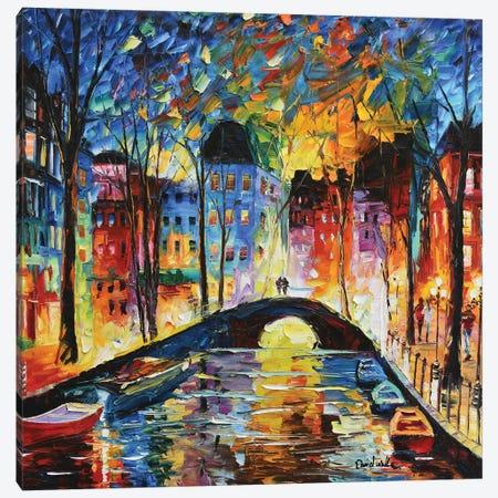 A Romantic Bridge For Love Canvas Print #DNW126} by Daniel Wall Canvas Wall Art