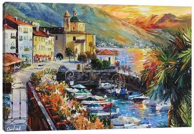 Amalfi Coast Italy Canvas Art Print