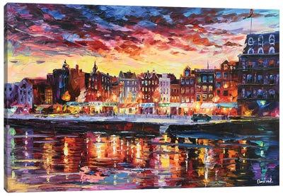 Amsterdam Looks Canvas Art Print