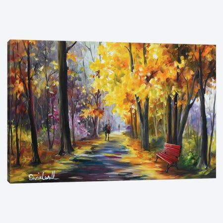 Autumn Yellow Canvas Print #DNW130} by Daniel Wall Canvas Wall Art