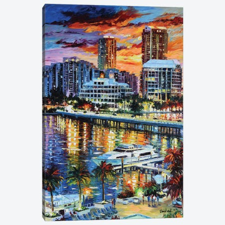 Paradise Life Canvas Print #DNW146} by Daniel Wall Canvas Artwork