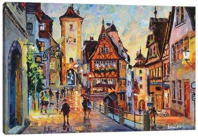 Rothenburg Ob Der Tauber Canvas Art Print