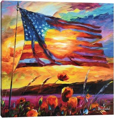 Our Flag Canvas Art Print