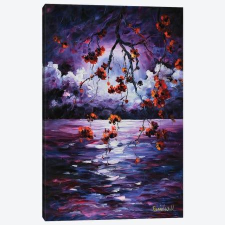 Purple Light Canvas Print #DNW32} by Daniel Wall Canvas Artwork