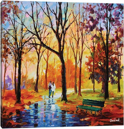 A Beautiful Afternoon Canvas Art Print