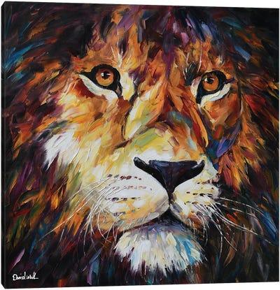 A Fierce Look Canvas Art Print