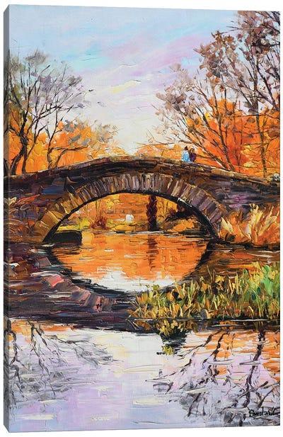 A Romantic Bridge Canvas Art Print