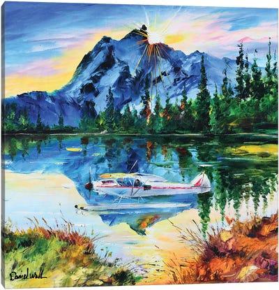 A Seaplane Canvas Art Print