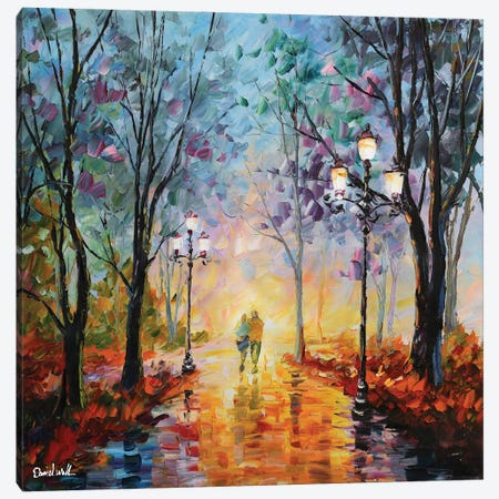 After Rain Canvas Print #DNW62} by Daniel Wall Canvas Art Print