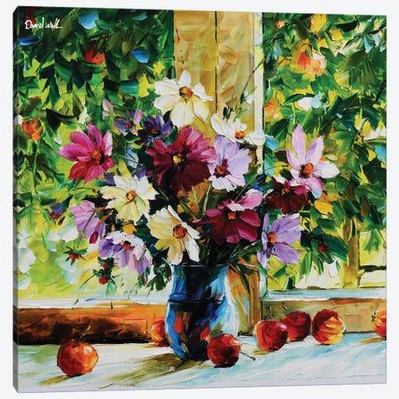 Beautiful Window Canvas Print #DNW68} by Daniel Wall Canvas Art Print