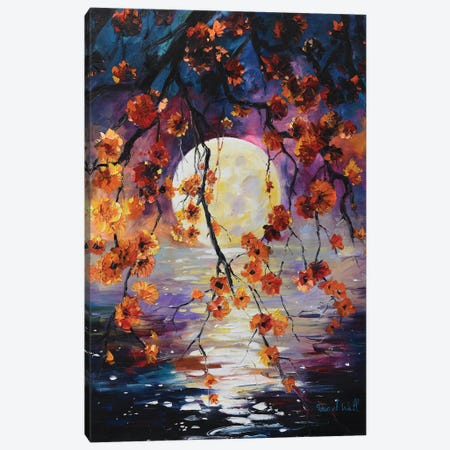 Splendid Evening Canvas Print #DNW6} by Daniel Wall Art Print