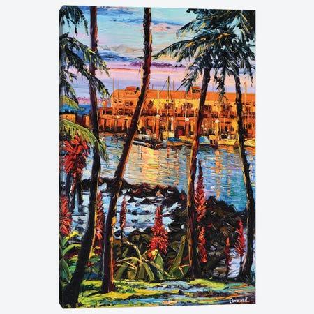 Exotic Resorts Canvas Print #DNW79} by Daniel Wall Canvas Artwork