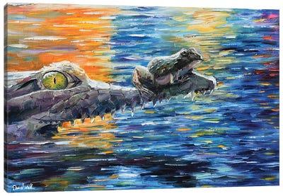Gator What Canvas Art Print