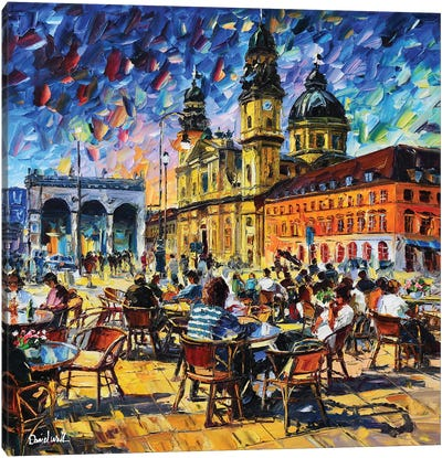 Munich Impression Canvas Art Print