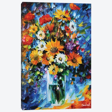 Pretty Bouquet Canvas Print #DNW99} by Daniel Wall Canvas Artwork
