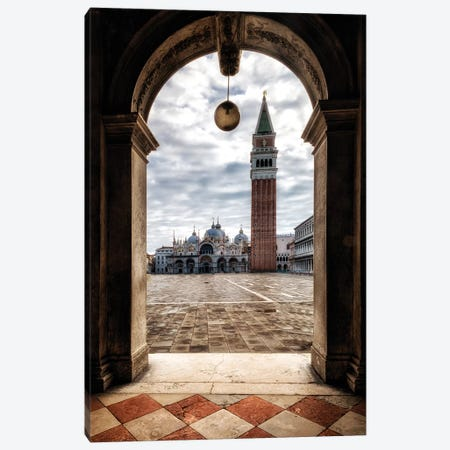 Looking Out Canvas Print #DNY102} by Danny Head Canvas Wall Art