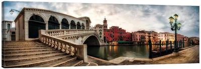 Rialto - Grand Canal Panorama Canvas Art Print