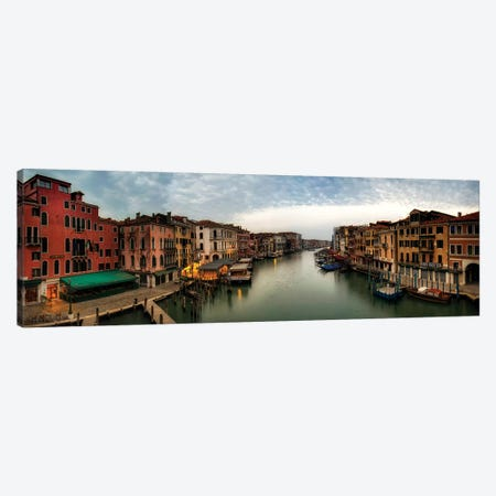 Rialto Panorama Canvas Print #DNY107} by Danny Head Canvas Print