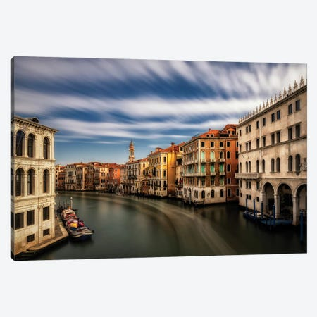 Rialto, Looking North Canvas Print #DNY108} by Danny Head Canvas Artwork