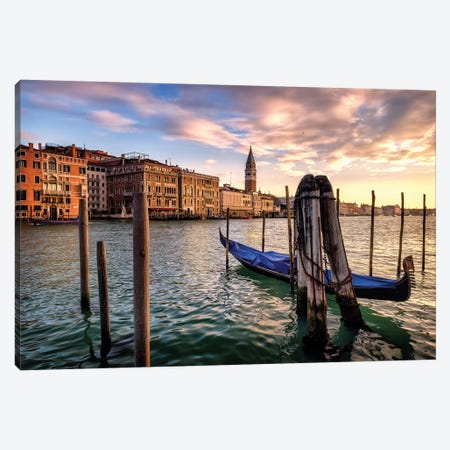 Venice Morning Canvas Print #DNY111} by Danny Head Art Print