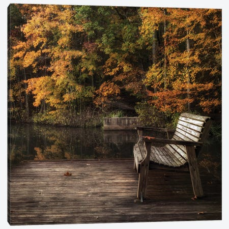 Autumn Rest Canvas Print #DNY112} by Danny Head Art Print