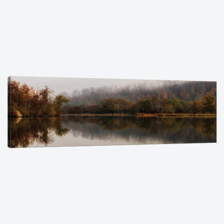 Autumn's Reflection Canvas Print #DNY113} by Danny Head Canvas Print