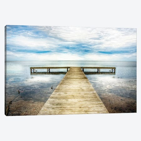 Down the Pier II 3-Piece Canvas #DNY119} by Danny Head Art Print