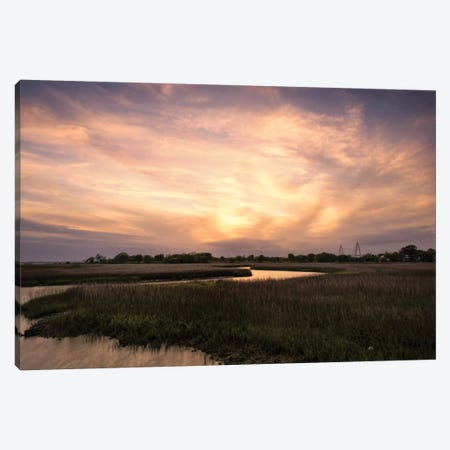 Low Country Sunset I Canvas Print #DNY14} by Danny Head Art Print