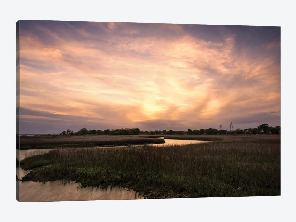 Low Country Sunset I by Danny Head 1-piece Canvas Wall Art