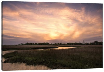 Low Country Sunset I Canvas Art Print