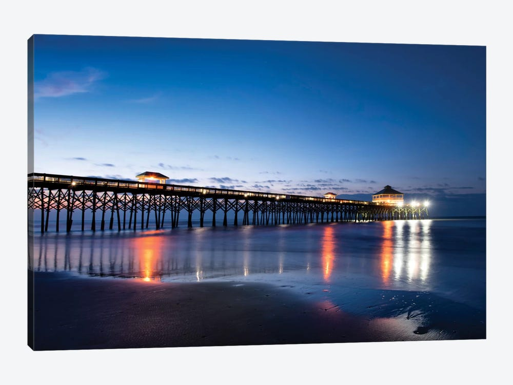 Pier Reflections I by Danny Head 1-piece Canvas Art