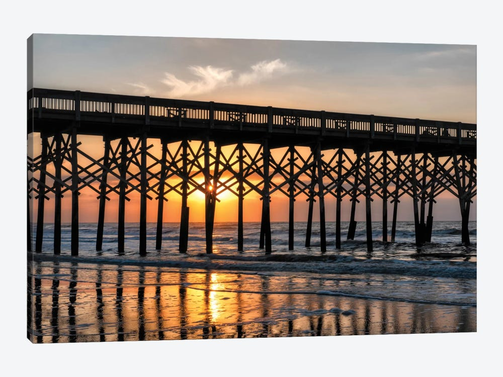 Pier Reflections II by Danny Head 1-piece Art Print
