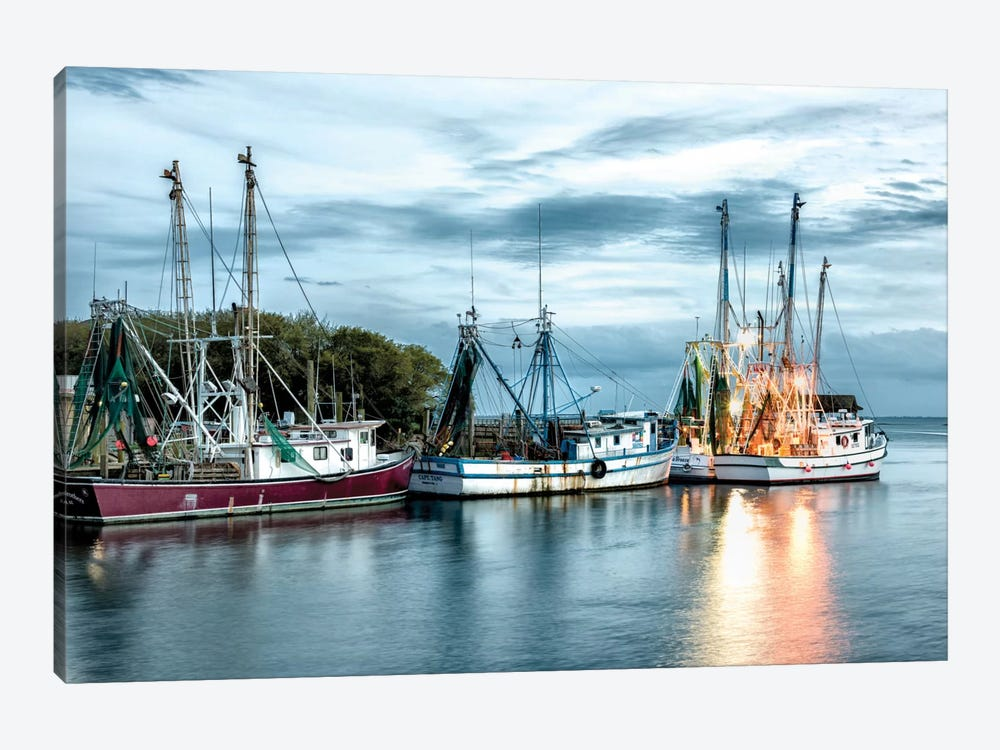 The Shrimping Fleet by Danny Head 1-piece Art Print