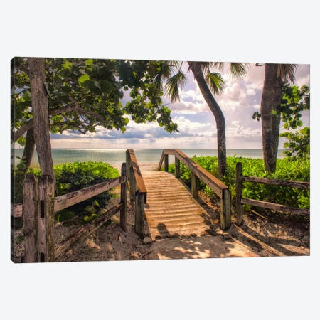Beach Access  Canvas Print #DNY41} by Danny Head Canvas Art Print