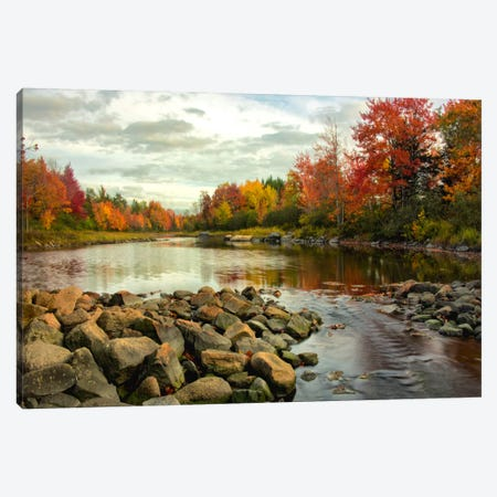 Northeast Creek Canvas Print #DNY48} by Danny Head Canvas Print