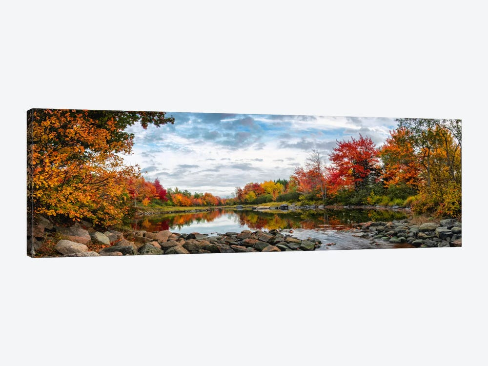 Northeast Creek Panorama by Danny Head 1-piece Canvas Wall Art