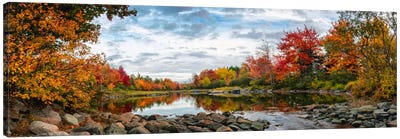 Northeast Creek Panorama Canvas Art Print